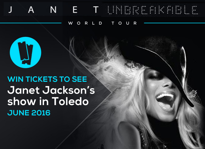 Win Janet Jackson Tickets feature image